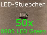 50x 0805 LED Grün