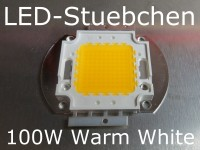 1x 100W High-Power LED Warmweiss