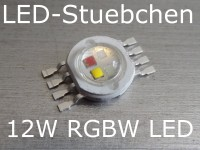 12W RGBW High-Power LED Emitter 4x 3W
