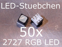 50x 2727 RGB SMD LED Black