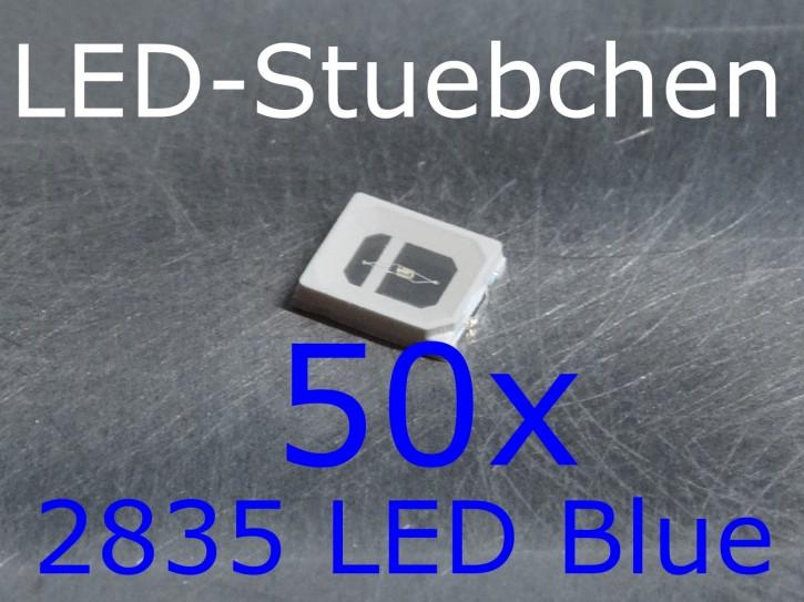 50x 2835 LED Blau, grow LED