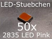 50x 2835 LED Pink