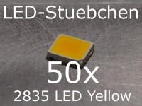 50x 2835 LED Gelb