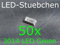 50x 3014 LED Grün