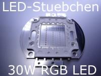 30W RGB LED (3x10W) 1050 mA