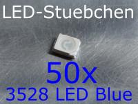 50x 3528 LED Blau