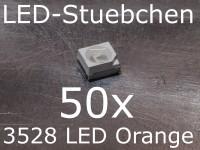 50x 3528 LED Orange