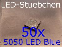 50x 5050 LED Blau
