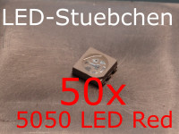 50x 5050 LED Rot