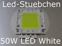 1x 50W High-Power LED Weiss