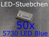50x 5730 LED Blau