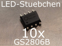 10x GS8206B LED-Treiber IC