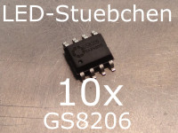 10x GS8206 LED-Treiber IC