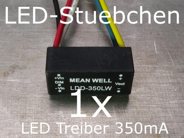LED DC/DC Konstantstromquelle 350mA, LDD-350 LW