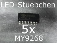 5x MY9268 LED-Treiber IC