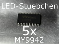 5x MY9942 LED-Treiber IC