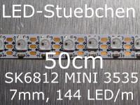 SK6812 MINI 3535 RGB Stripe, 144 LED/m, 7mm