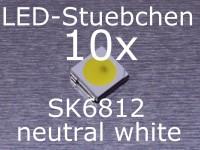 SK6812 neutral weisse LED mit integriertem WS2811 controller