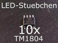 10x TM1804 LED-Treiber IC