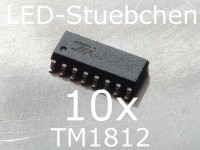 10x TM1812 LED-Treiber IC, 24V