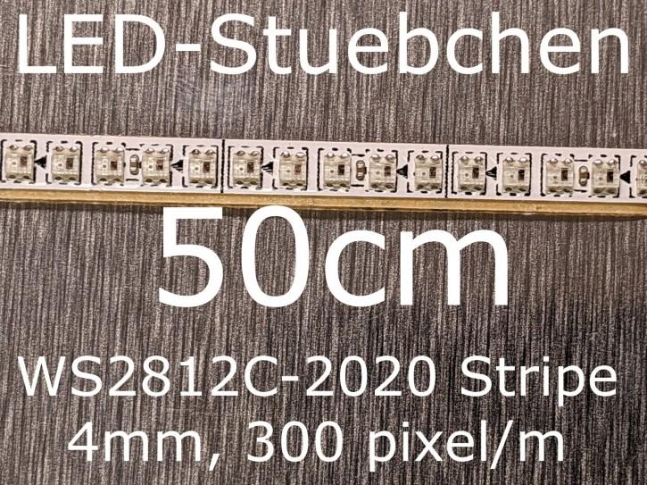 WS2812C-2020 RGB Stripe, 4mm, 300 LED/m