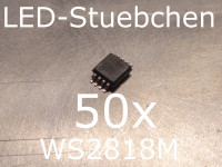 50x WS2818M LED-Treiber IC
