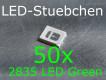 50x 2835 LED Grün