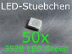50x 3528 LED Grün