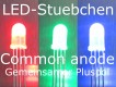 50x 5mm LED RGB 3-Chip common anode