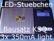 3x Bausatz LED Konstantstromquelle 350mA