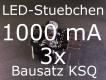 3x Bausatz LED Konstantstromquelle 1000mA