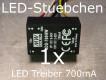 LED DC/DC Konstantstromquelle 700mA, LDD-700 HW