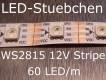 WS2815 - 12V RGB Stripe - LEDs mit integriertem WS2811 controller, 60 LED/m