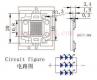 3x 10W High-Power LED Warmweiss